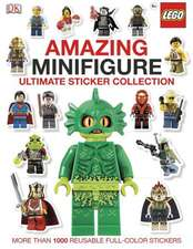 Amazing Minifigure:  Ultimate Sticker Collection