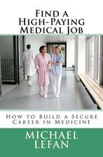 Find a High-Paying Medical Job