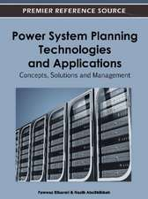 Power System Planning Technologies and Applications