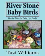 River Stone Baby Birds