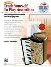 Alfred's Teach Yourself to Play Accordion:  Everything You Need to Know to Start Playing Now!, Book, DVD & Online Audio, Video & Software