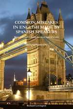 Common Mistakes in English Made by Spanish Speakers