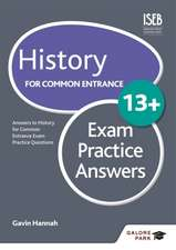 History for Common Entrance