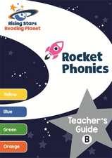 Reading Planet Rocket Phonics Teacher's Guide B (Yellow - Orange)