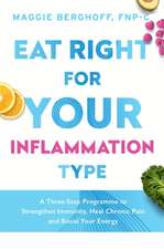 EAT RIGHT FOR YOUR INFLAMMATION TYPE