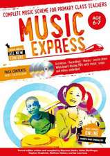 Music Express: Age 6-7 (Book + 3CDs + DVD-ROM)