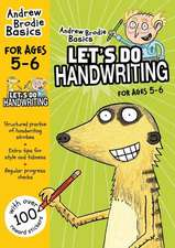 Let's Do Handwriting 5-6