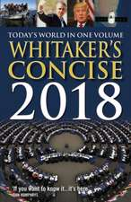 Whitaker's Concise 2018
