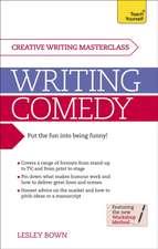 Masterclass:  Writing Comedy
