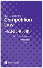Butterworths Competition Law Handbook