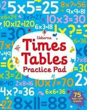 Times Tables Practice Pad