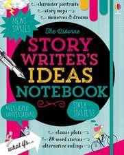 Story Writer's Ideas Notebook