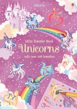 Unicorns Transfer Book
