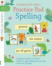Spelling Practice Pad 6-7