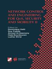 Network Control and Engineering for QoS, Security and Mobility: IFIP TC6 / WG6.2 & WG6.7 Conference on Network Control and Engineering for QoS, Security and Mobility (Net-Con 2002) October 23–25, 2002, Paris, France