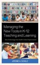 MANAGING NEW TOOLS IN K 12 TEACB