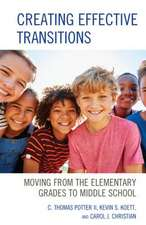 CREATING EFFECTIVE TRANSITIONSPB