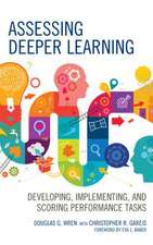 ASSESSING DEEPER LEARNINGDEVEPB