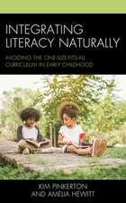INTEGRATING LITERACY NATURALLYCB