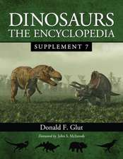 Dinosaurs:  The Encyclopedia, Supplement 7