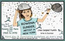 Rowena Sunder, Artist in New York