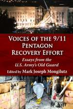 Voices of the 9/11 Pentagon Recovery Effort