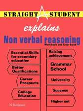 Straight a Student Explains Non Verbal Reasoning