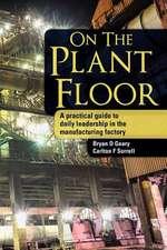 On the Plant Floor