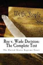 Roe V. Wade Decision