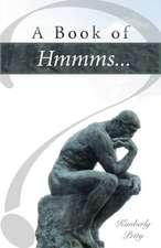 A Book of Hmmms...