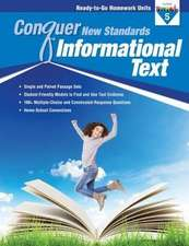 Conquer New Standards Informational Text (Grade 5) Workbook