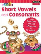 Hands-On Phonics: Short Vowels and Consonants (Gr K-2) Student Book