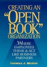 """Creating an """"Open-Book"""" Organization"""