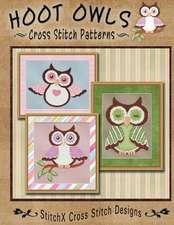 Hoot Owls Cross Stitch Patterns