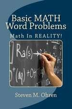 Basic Math Word Problems