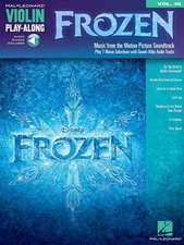 Frozen:  Violin Play-Along Volume 48