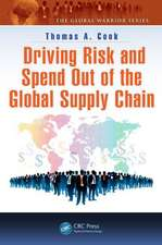 Driving Risk and Spend Out of the Global Supply Chain