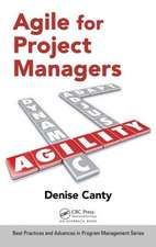 Agile for Project Managers