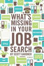What's Missing in Your Job Search