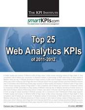 Top 25 Web Analytics Kpis of 2011-2012:  Chinese Edition