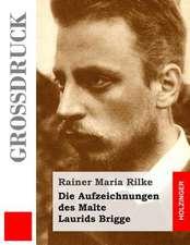 Die Aufzeichnungen Des Malte Laurids Brigge (Grossdruck)