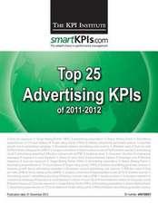 Top 25 Advertising Kpis of 2011-2012