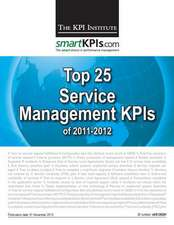 Top 25 Service Management Kpis of 2011-2012