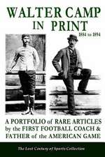 Walter Camp in Print