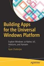 Building Apps for the Universal Windows Platform