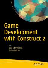 Game Development with Construct 2: From Design to Realization