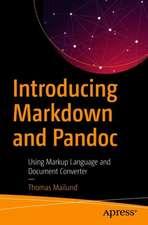 Introducing Markdown and Pandoc