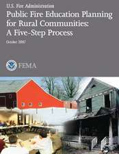 Public Fire Education Planning for Rural Communities