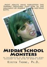 Middle School Monsters