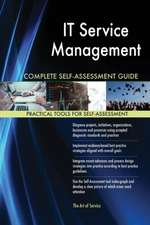 IT Service Management Complete Self-Assessment Guide